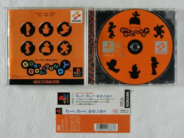 Goo! Goo! SOUNDY PS1 Konami Sony Playstation Spine From Japan