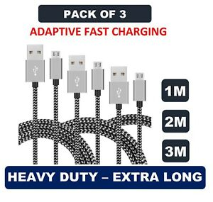 Premium-Long-Micro-USB-FAST-Charger-Cable-Lead-for-Samsung-S5-S6-S7-Edge