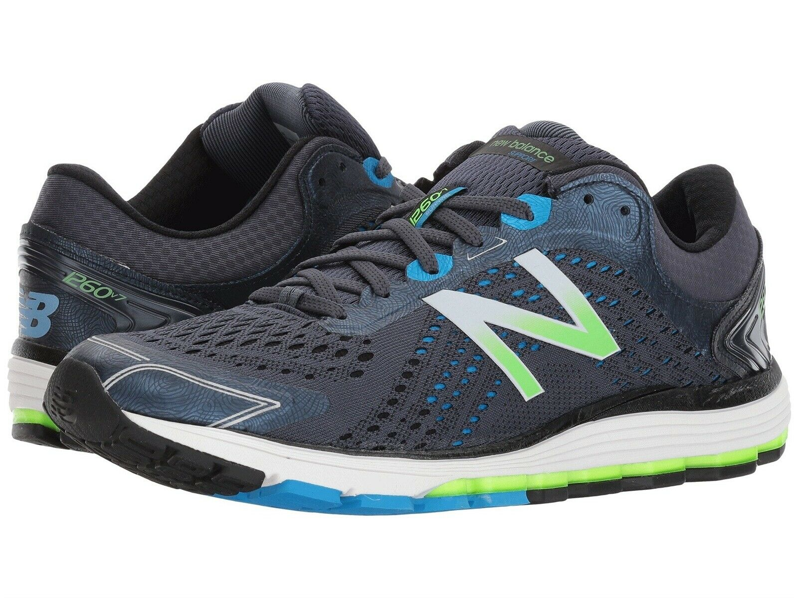 NEW BALANCE 1260v7 RUNNING scarpe Uomo Uomo Uomo Dimensione 11.5 FREE USA SHIPPING 22545c