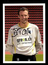 Davide Taini Autogrammkarte FC Zürich 2003-04 Original Signiert+A 148621