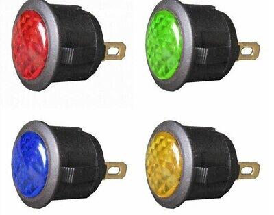 Alamor 12V 10Mm Led Armaturenbrett Blinker Warn Signal Lampe-Gelb