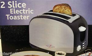 Chrome Toaster - Low Wattage 900watts - Caravan / Motorhome       PO246