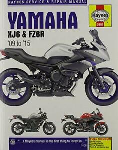 Yamaha-XJ6-Service-and-Repair-Manual-2009-2015-by-Coombs-Matthew-NEW-Book-FRE