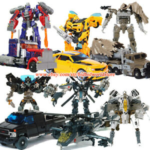 HZX Transformers Optimus Prime Bumblebee Voyager 7in Action Figure Child Kid Toy