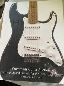 Christie S Eric Clapton Crossroads Guitar Auction Catalog Book 2004 Ebay