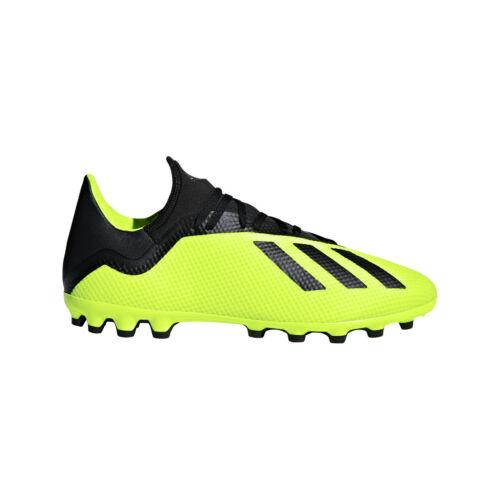 adidas X 18.3 AG Fußballschuhe gelb//schwarz AQ0707