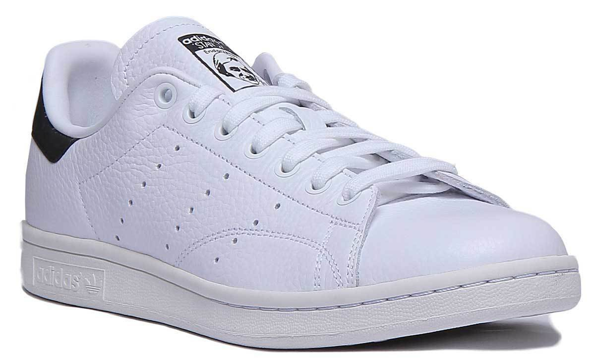 Adidas Stan Smith Men Leather White Trainers UK Size 6 - 12