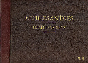 M-H-CATALOGUE-MEUBLES-ET-SIEGES-COPIES-D-039-ANCIENS-1931