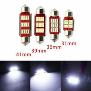 CANbus-Bombilla-C5W-LED-4014-12smd-Festoon-Dome-Light-Coche-lampara-de-lectura
