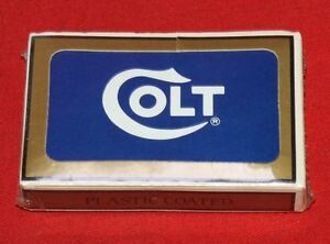 Colt-Firearms-Factory-Employee-Safety-Playing-Cards-1990s-Blue