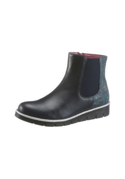 JJ Footwear chelsea botas de cuero, negro, nuevo
