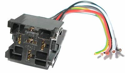 kfz Relais Sockel Fassung für Standard Kfz-Relais 12V 40A Einreihbar MwSt BK