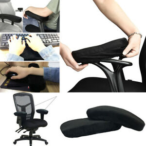 Image Is Loading Memory Foam Cotton Armrest Cushion Pads Elbow Arm