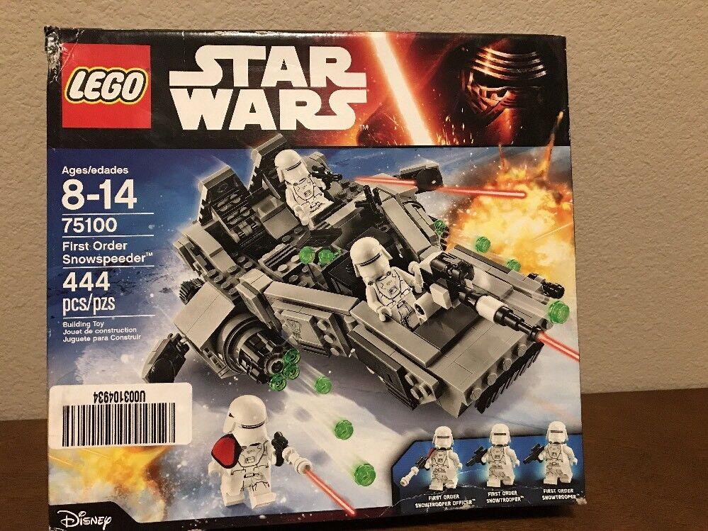 Star Wars Lego 75100 First Order Snowspeeder NEW In Box