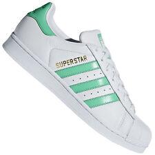 23130dfa2ed2 Adidas Originals Superstar Men s Sneaker Gym Shoe Shoe White Hi-Res Green