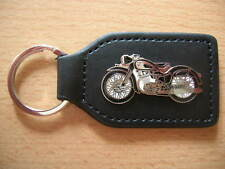 Schlüsselanhänger NSU 250 Motorrad schwarz Art 0215 Motorbike Moto Oldtimer