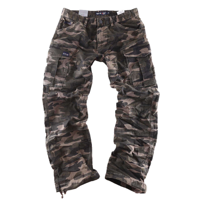 Big Seven Brian Cargo Camuflaje Pantalón Informal Vaqueros Hombre XXL