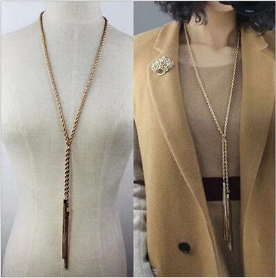 New Style Fashion Crystal Bib Necklace Pendant Chunky Choker Charm Long Chain