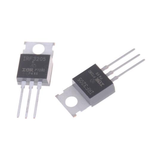 5pcs IRF3205 Leistungstransistor Feldeffektor IRF3205ZPBF 110A55V200W MOS KQ