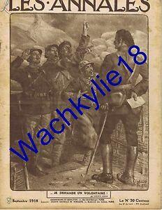 Les-annales-n-1837-du-08-09-1918-Alfred-Capus-Vernou-sur-Brenne-Haig-Bell