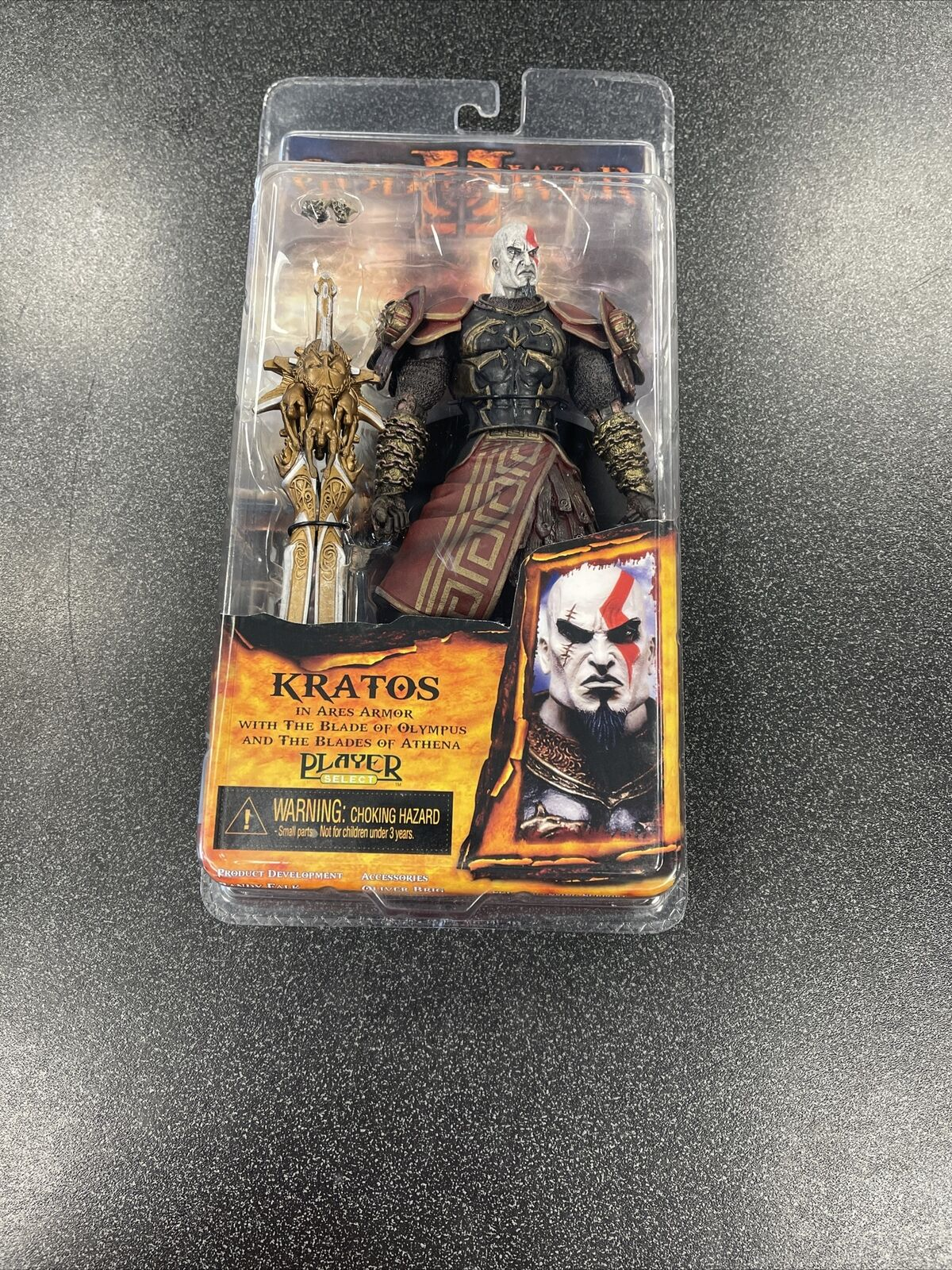 Neca God Of War 2 Video Game Action Figures Series 1 Kratos With Ares Armor For Sale Online Ebay