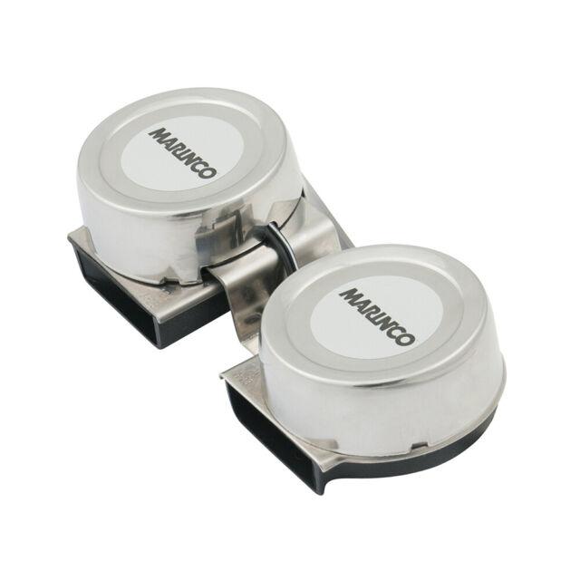 Marinco 12v Mini Twin Comapct Electric Horn 10001 for sale online