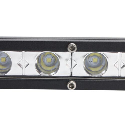 50 inch 144W Ultra Slim LED Light Bar Single Row ATV Offroad Fog Driving Truck