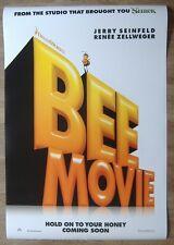 Bee Movie (2007) ORIGINAL D/S ADV ONE-SHEET MOVIE POSTER, Jerry Seinfeld