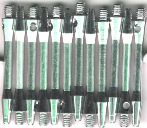 1.75in 2ba Silver Aluminum Dart Shafts 3 per set