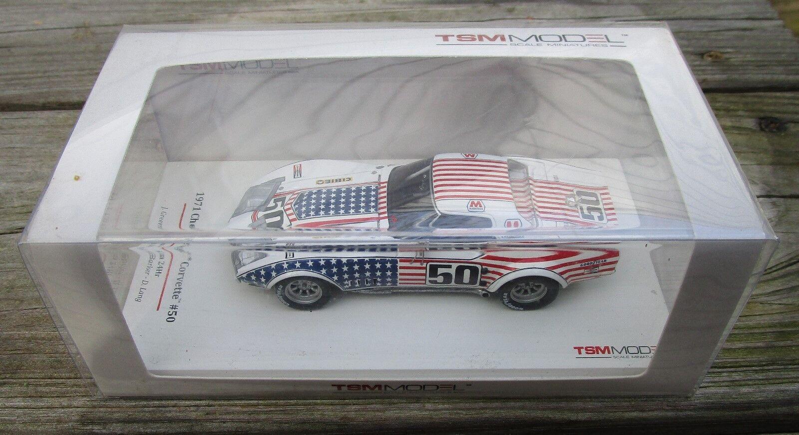 True SCALE MODELS 1 43 Chevrolet Corvette 1971 Daytona 24