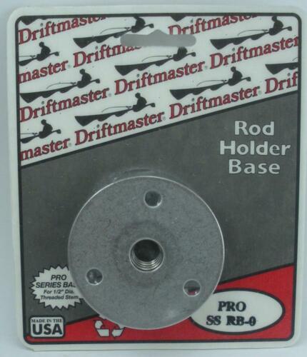"Driftmaster SSRB Tige Pro Series 26630 0 Round Flush Mount Base s/'adapte 1//2/"" DIA"