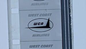 Advertising 16mm Film Reel - West Coast Airlines (WC15)