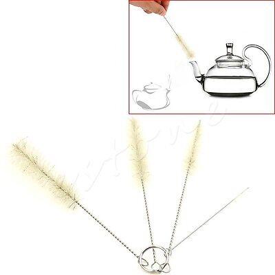 4pcs Baby Bottle Cleaning Brushes Kitchen Kettle Spout Teapot Nozzle Clean Brush