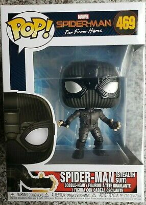 Figur Spider-Man im Stealth Suit Bobble-Head Funko POP Spider-Man