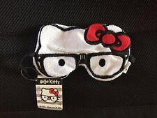 BNWT Hello Kitty Towel Fabric Nerd Eye Mask