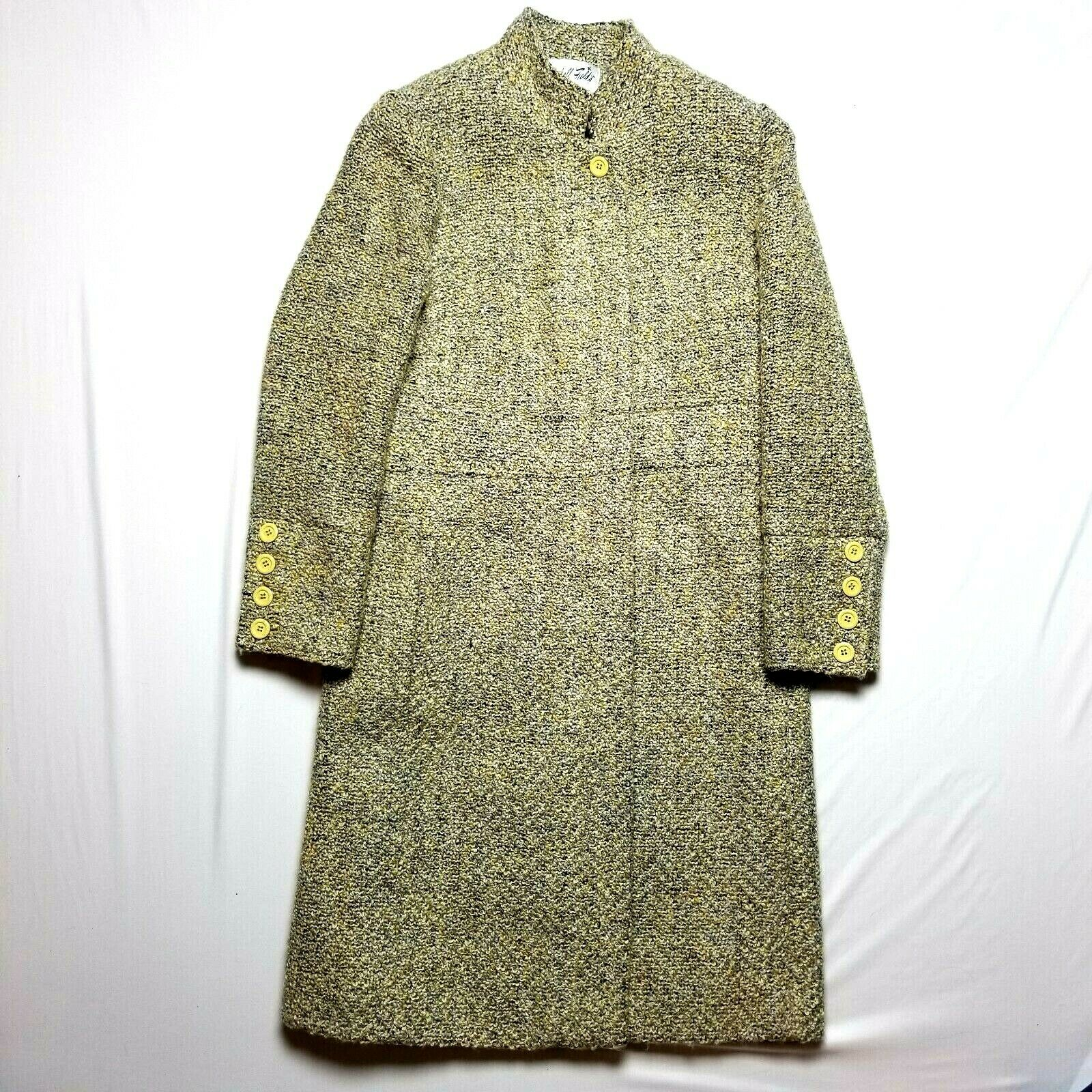 Marshall Field's 6 wool trench coat vintage