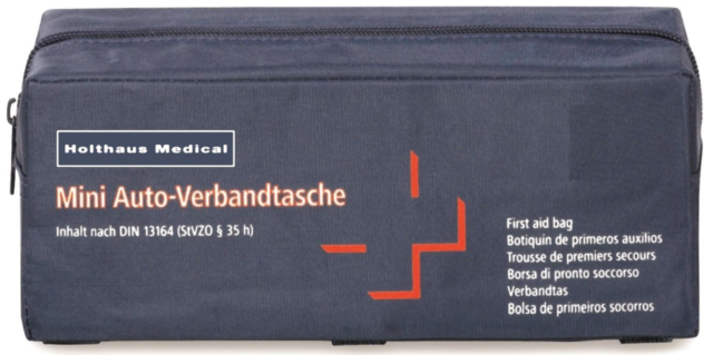 Holthaus Medical Mini  KFZ Auto Verbandtasche DIN 13164 Verbandskasten