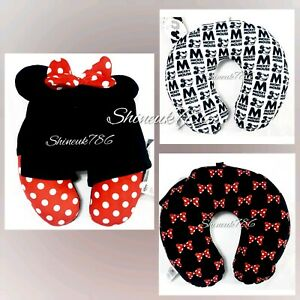 Disney-Mickey-Minnie-Travel-Pillow-Neck-Rest-Support-Holiday-Cushion-Primark-NEW