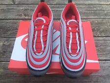 new concept 86334 86a3a item 3 Nike Air Max 97 Wolf Grey Gym Red Black White Size 9 -Nike Air Max  97 Wolf Grey Gym Red Black White Size 9