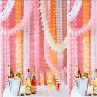 Colorful 3.6M Four Leaf Clover Hanging Paper Garlands Wedding Party Decoration H