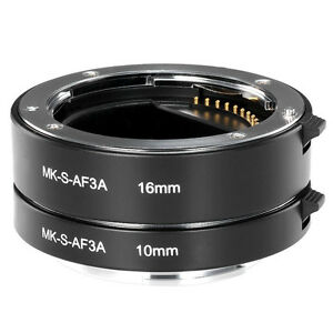Meike Auto Focus AF Metal Macro Extension tube for Sony E-Mount NEX Camera NEX3