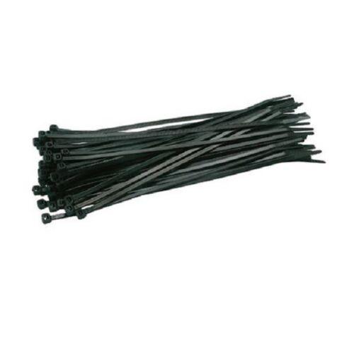 schwarz 18 cm Kabelhalter Kabel Binder 100 Stück Kabelbinder 180 mm x 3,6mm