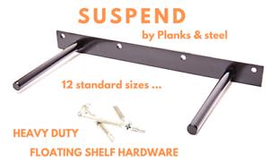 "6/"" for Floating Shelf Includes Laser Level/&Hardware 4x Floating Shelf Brackets"