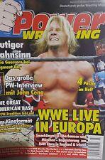 Power Wrestling 07/2004 WWE WWF WCW + 4 Poster (RVD, Eugene, Cena, S. Michaels)