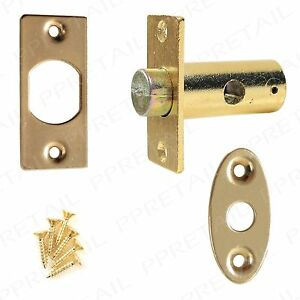 WINDOW-SECURITY-RACK-DEAD-BOLT-SCREWS-Brass-Replacement-Star-Lock-Mortice-Set