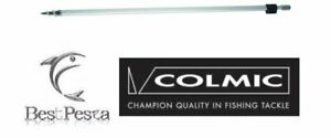 COLMIC-ASTA-IN-ALLUMINIO-TELEREGOLABILE-A-TRIVELLA-Lunghezza-85cm