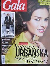 Gala 24/2014 front Natasza Urbanska,in:Britney Spears,Karl Lagerfeld