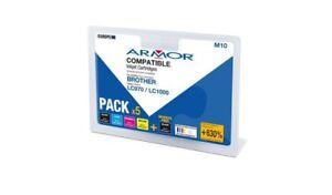 Armor-inchiostro-MultiPack-2xbk-1xc-m-y-compatibile-con-Brother-UNIV-lc-970-lc-100