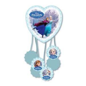 Disney-039-s-Frozen-Elsa-Anna-Skating-Children-039-s-Party-Pull-Pinata-Game