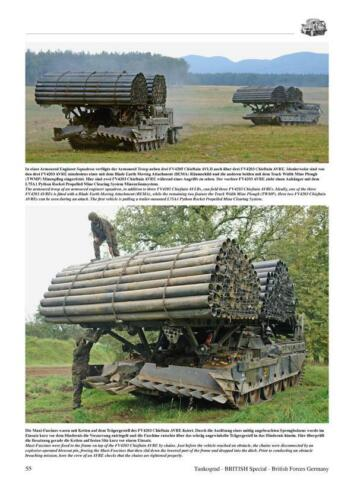 British Forces Germany British Army in Deustchland Ende der BAOR Tankograd 9030